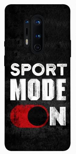 Чехол itsPrint Sport mode on для OnePlus 8 Pro