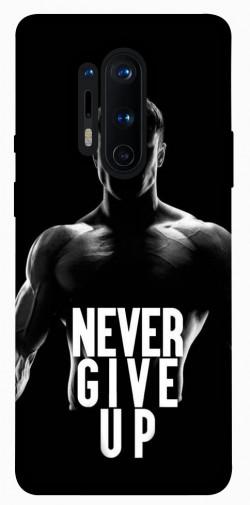 Чехол itsPrint Never give up для OnePlus 8 Pro