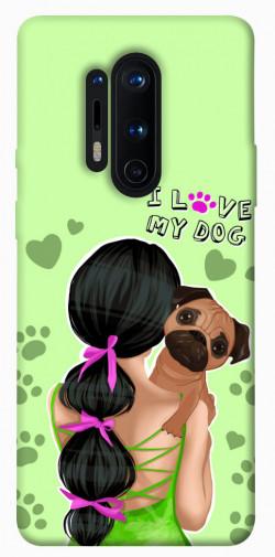 Чехол itsPrint Love my dog для OnePlus 8 Pro