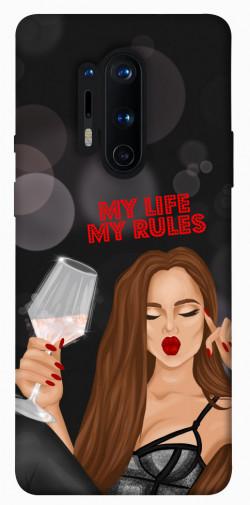 Чехол itsPrint My life my rules для OnePlus 8 Pro