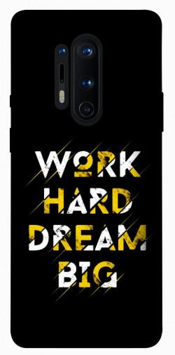 Чехол itsPrint Work hard для OnePlus 8 Pro