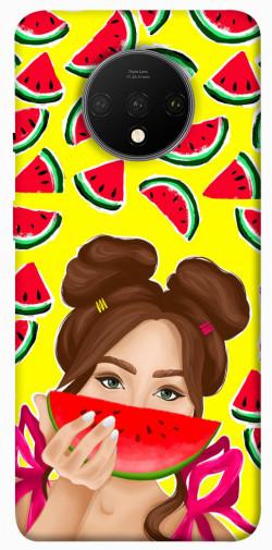 Чехол itsPrint Watermelon girl для OnePlus 7T