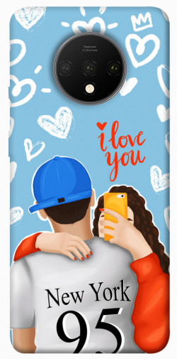 Чехол itsPrint Forever end ever для OnePlus 7T