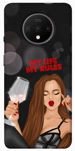Чехол itsPrint My life my rules для OnePlus 7T