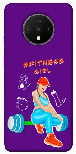 Чехол itsPrint Fitness girl для OnePlus 7T