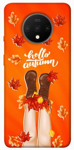 Чехол itsPrint Hello autumn для OnePlus 7T