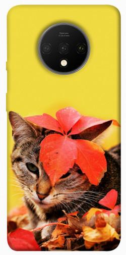 Чехол itsPrint Осенний котик для OnePlus 7T