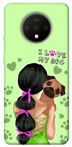 Чехол itsPrint Love my dog для OnePlus 7T