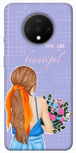 Чехол itsPrint You are beautiful для OnePlus 7T