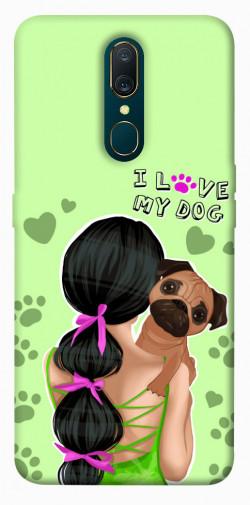Чехол itsPrint Love my dog для OPPO F11 / A9 / A9X