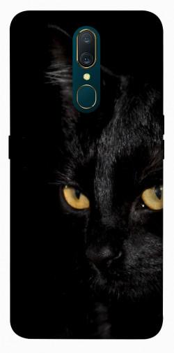 Чехол itsPrint Черный кот для OPPO F11 / A9 / A9X
