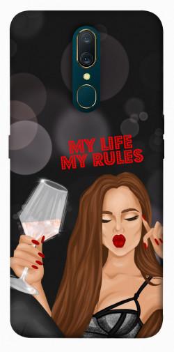 Чехол itsPrint My life my rules для OPPO F11 / A9 / A9X