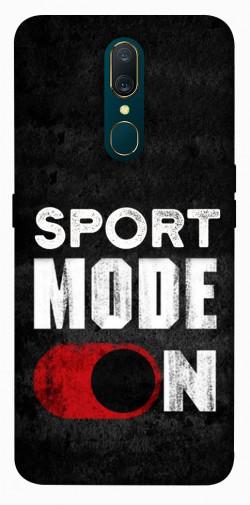 Чехол itsPrint Sport mode on для OPPO F11 / A9 / A9X