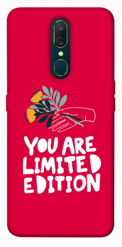 Чехол iPrint You are limited edition для OPPO F11 / A9 / A9X