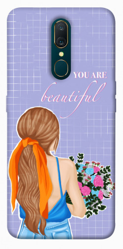 Чехол itsPrint You are beautiful для OPPO F11 / A9 / A9X