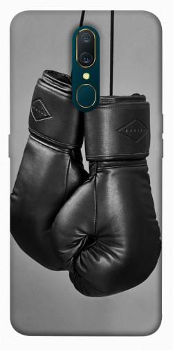 Чехол itsPrint Черные боксерские перчатки для OPPO F11 / A9 / A9X