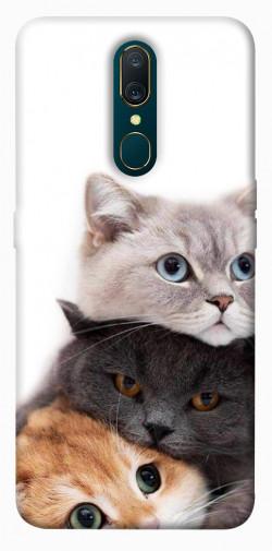 Чехол itsPrint Три кота для OPPO F11 / A9 / A9X