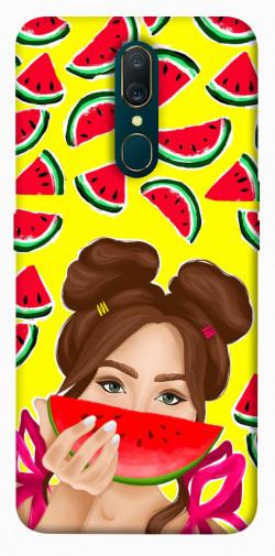 Чехол itsPrint Watermelon girl для OPPO F11 / A9 / A9X