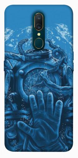 Чехол itsPrint Astronaut art для OPPO F11 / A9 / A9X