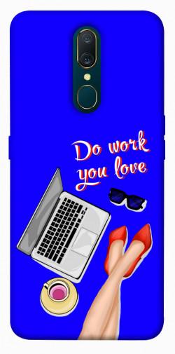 Чехол itsPrint Do work you love для OPPO F11 / A9 / A9X