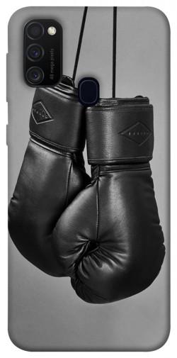 Чехол itsPrint Черные боксерские перчатки для Samsung Galaxy M30s / M21