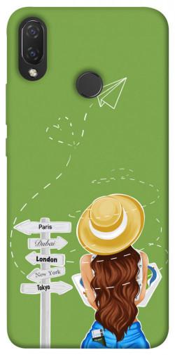 Чехол itsPrint Travel girl для Huawei P Smart+ (nova 3i)