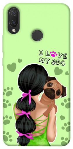 Чехол itsPrint Love my dog для Huawei P Smart+ (nova 3i)