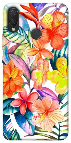 Чехол itsPrint Цветочный коктейль для Huawei P Smart+ (nova 3i)