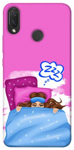 Чехол itsPrint Sleepу girl для Huawei P Smart+ (nova 3i)
