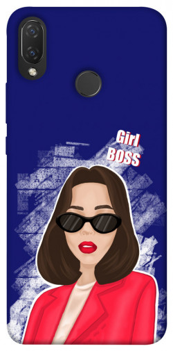 Чехол itsPrint Girl boss для Huawei P Smart+ (nova 3i)
