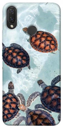 Чехол itsPrint Морские черепахи для Huawei P Smart+ (nova 3i)