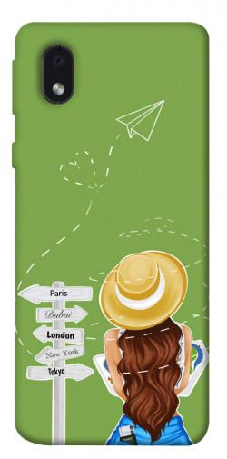 Чехол itsPrint Travel girl для Samsung Galaxy M01 Core / A01 Core