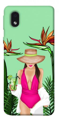 Чехол itsPrint Tropical girl для Samsung Galaxy M01 Core / A01 Core