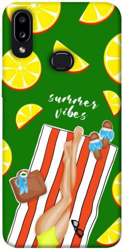 Чехол itsPrint Summer girl для Samsung Galaxy A10s