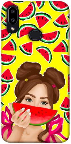 Чехол itsPrint Watermelon girl для Samsung Galaxy A10s