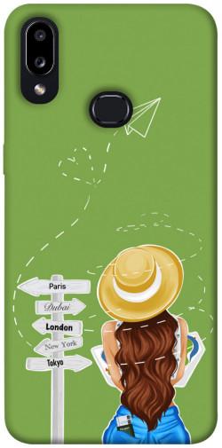 Чехол itsPrint Travel girl для Samsung Galaxy A10s