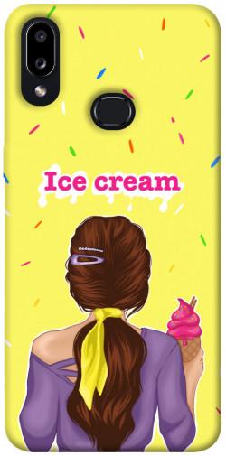 Чехол itsPrint Ice cream girl для Samsung Galaxy A10s