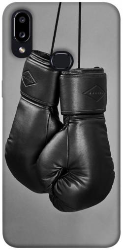 Чехол itsPrint Черные боксерские перчатки для Samsung Galaxy A10s