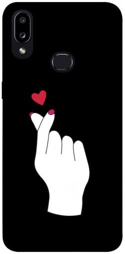 Чехол iPrint Сердце в руке для Samsung Galaxy A10s