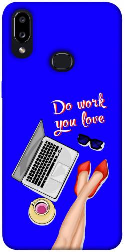 Чехол itsPrint Do work you love для Samsung Galaxy A10s