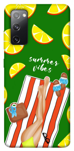 Чехол itsPrint Summer girl для Samsung Galaxy S20 FE