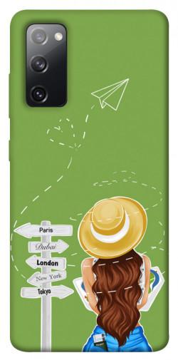 Чехол itsPrint Travel girl для Samsung Galaxy S20 FE