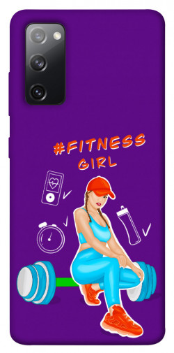 Чехол itsPrint Fitness girl для Samsung Galaxy S20 FE