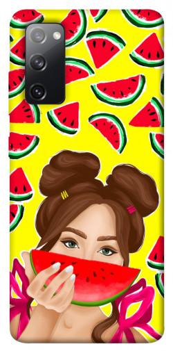 Чехол itsPrint Watermelon girl для Samsung Galaxy S20 FE