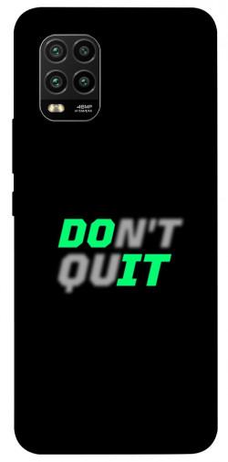 Чехол itsPrint Don't quit для Xiaomi Mi 10 Lite