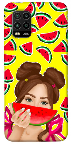 Чехол itsPrint Watermelon girl для Xiaomi Mi 10 Lite