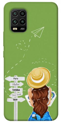 Чехол itsPrint Travel girl для Xiaomi Mi 10 Lite