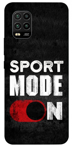 Чехол itsPrint Sport mode on для Xiaomi Mi 10 Lite