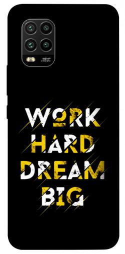 Чехол itsPrint Work hard для Xiaomi Mi 10 Lite