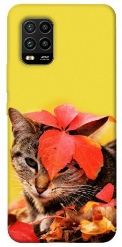 Чехол itsPrint Осенний котик для Xiaomi Mi 10 Lite